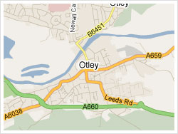 Map of Otley